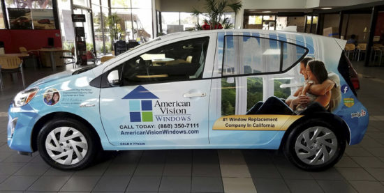 Eye Catching Vehicle Wraps