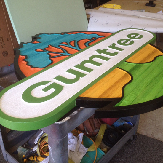 Sandblasted or Routed Signs