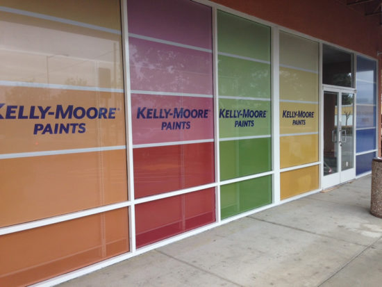 Colorful Window Graphics